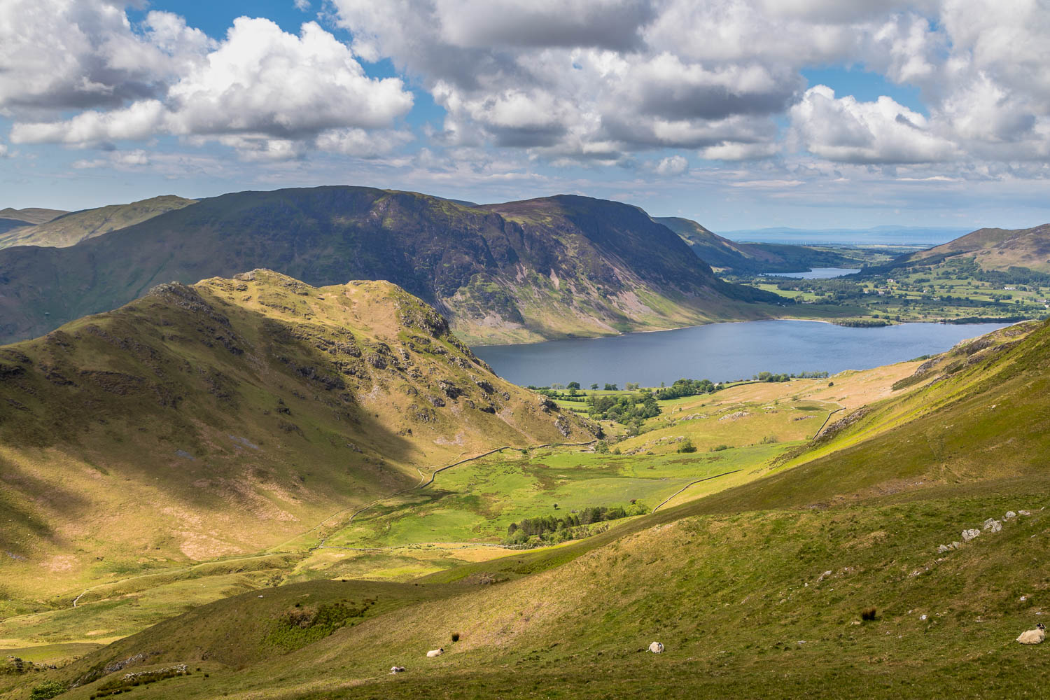 Crummock Water, Loweswater and the Solway Firth