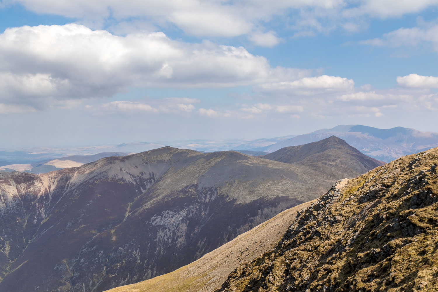 Grasmoor walk, Grisedale Pike, Hopegill Head, Skiddaw