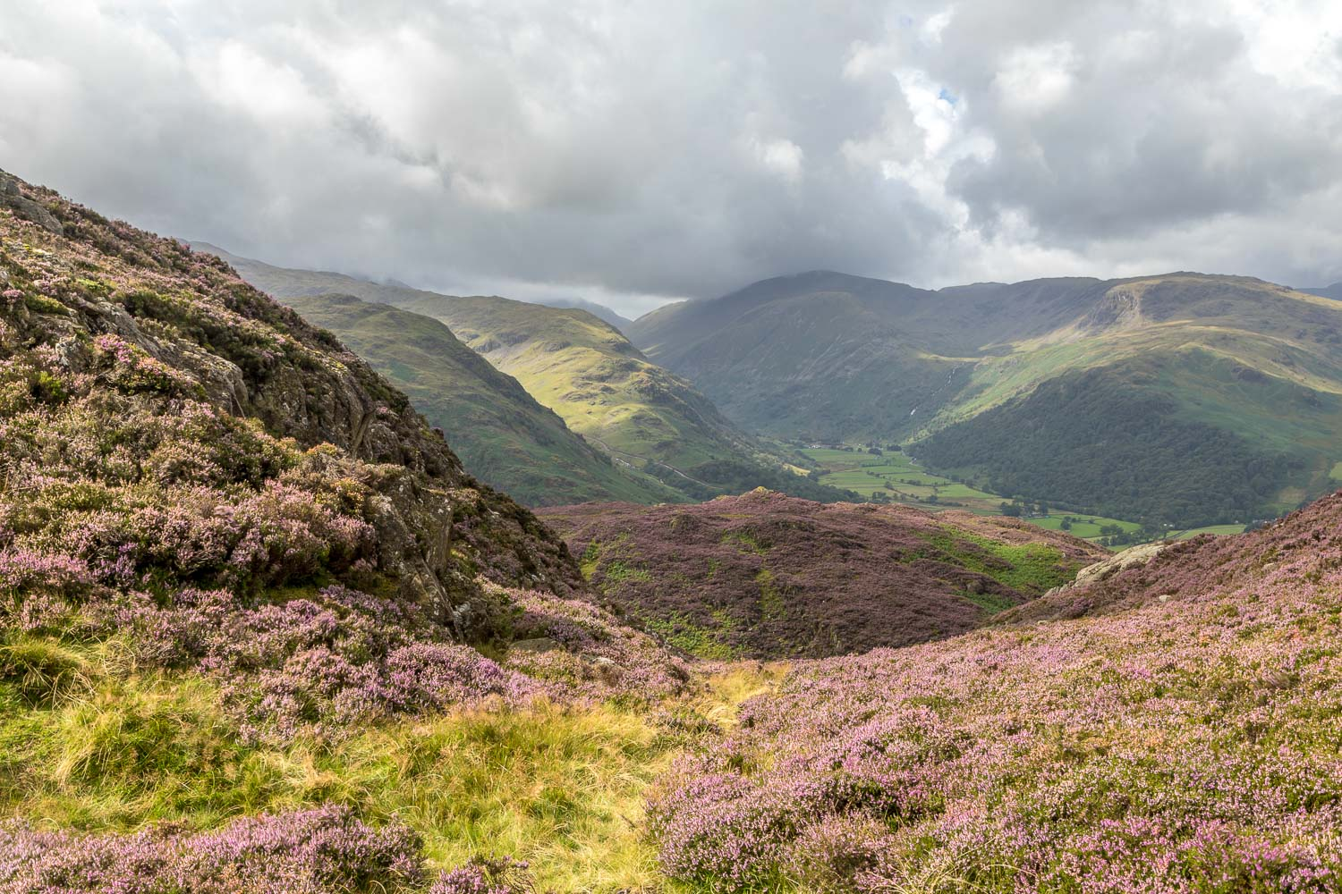 Great Crag walk, Borrowdale