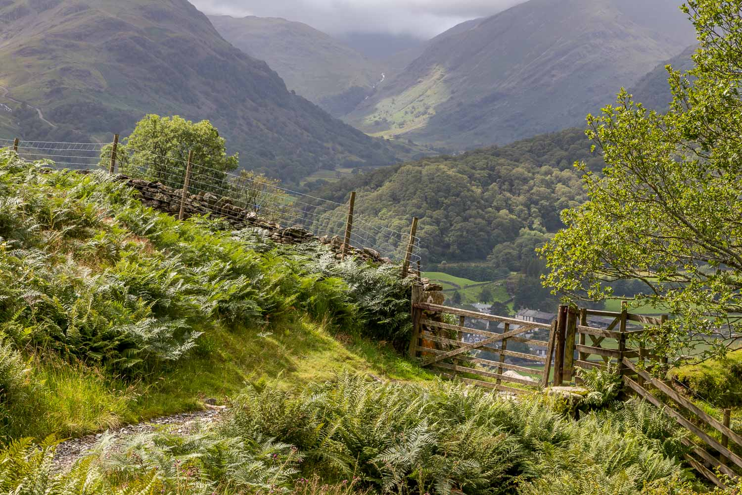 Great Crag walk,Borrowdale, Rosthwaite