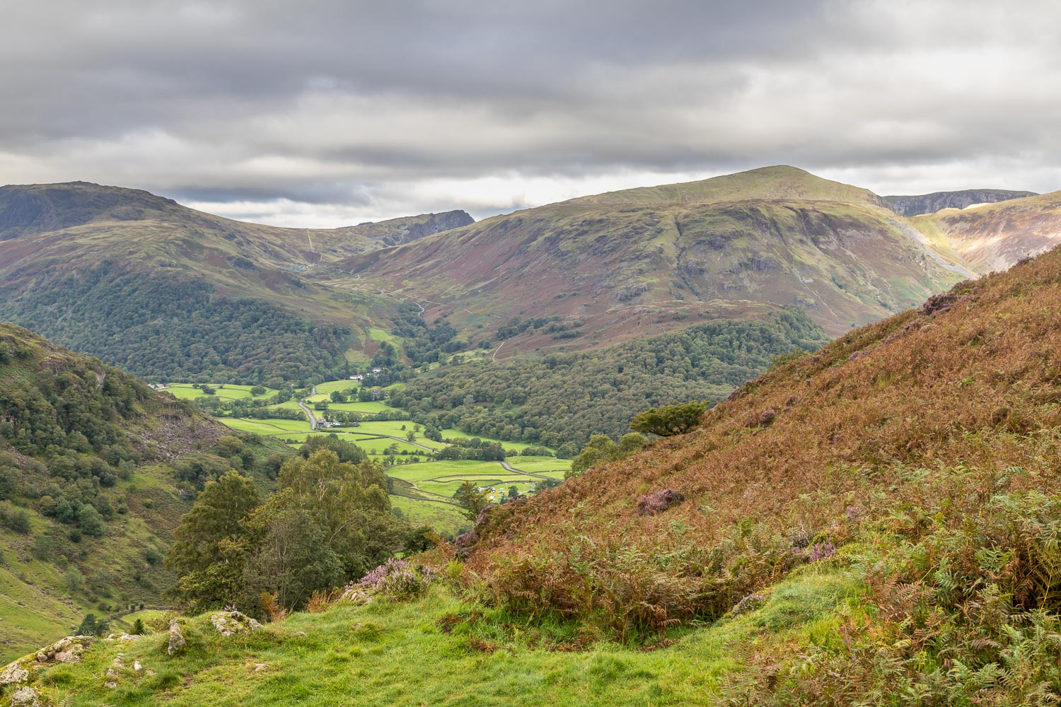 Borrowdale, Fleetwith Pike, Honister Pass