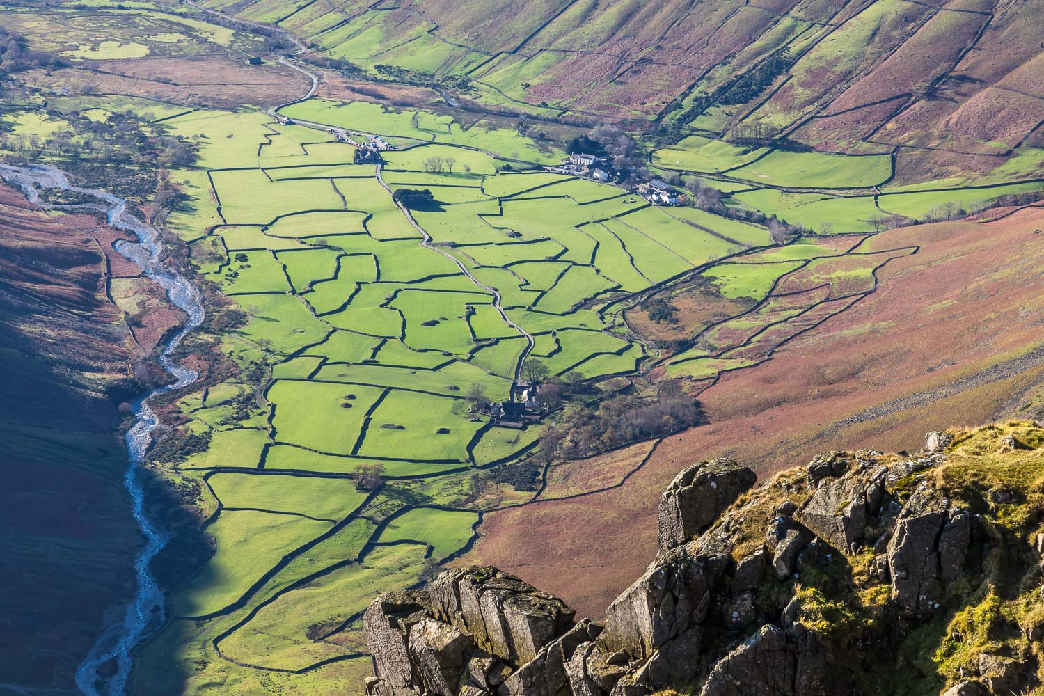 Great Gable view of Wasdale