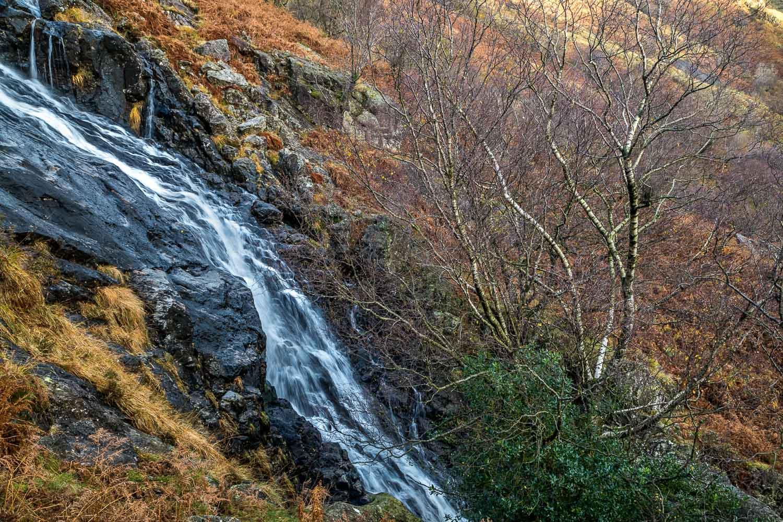 Sourmilk Gill waterfalls