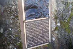 Great Gable War Memorial tablet