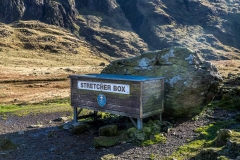 stretcher box at Sty Head