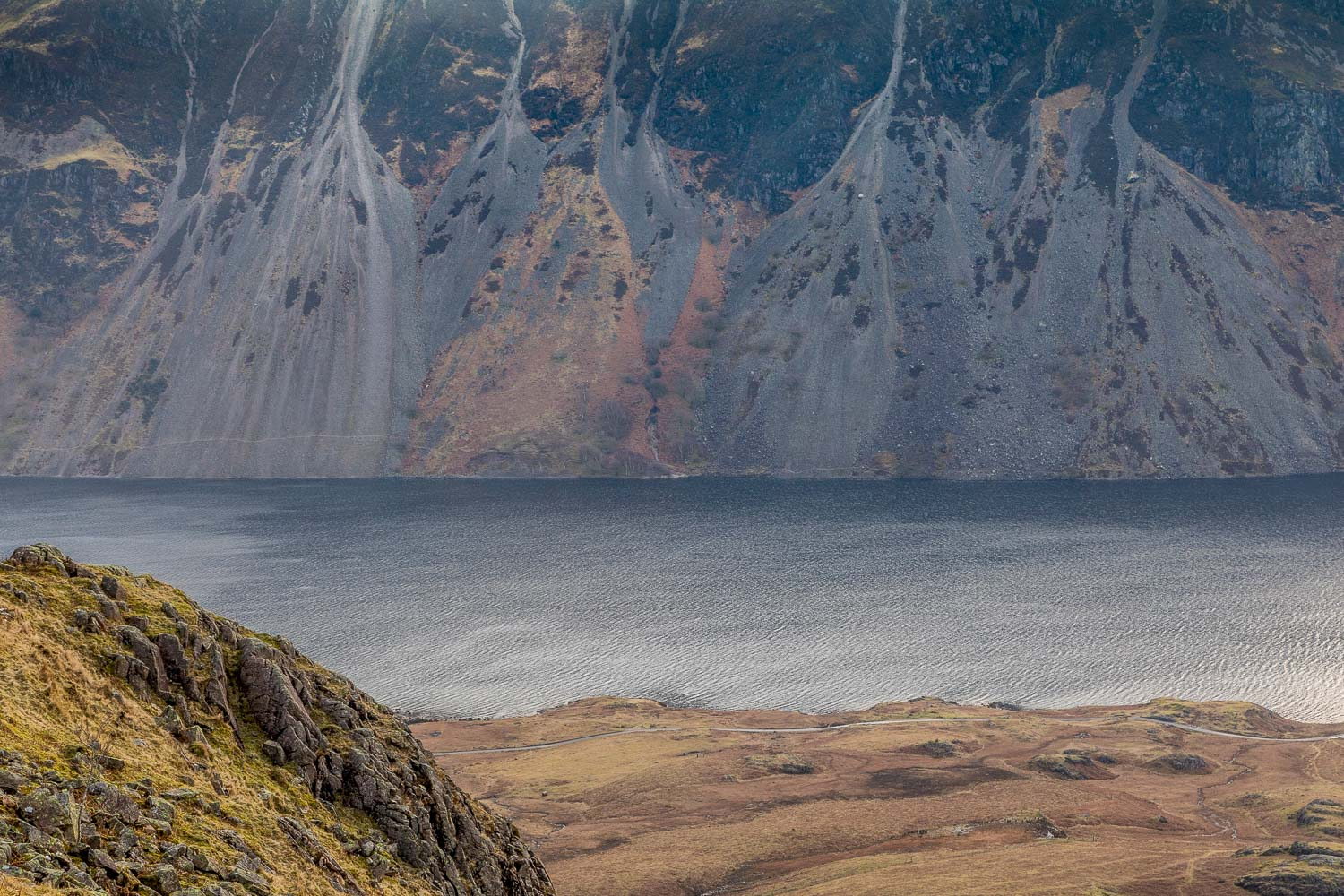 Wastwater and the Wasdale Screes