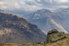 Scafell from Middle Fell