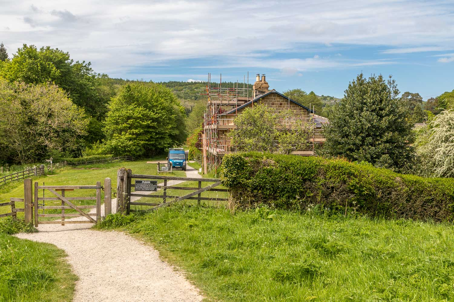 Grosmont Rail Trail Incline Cottage