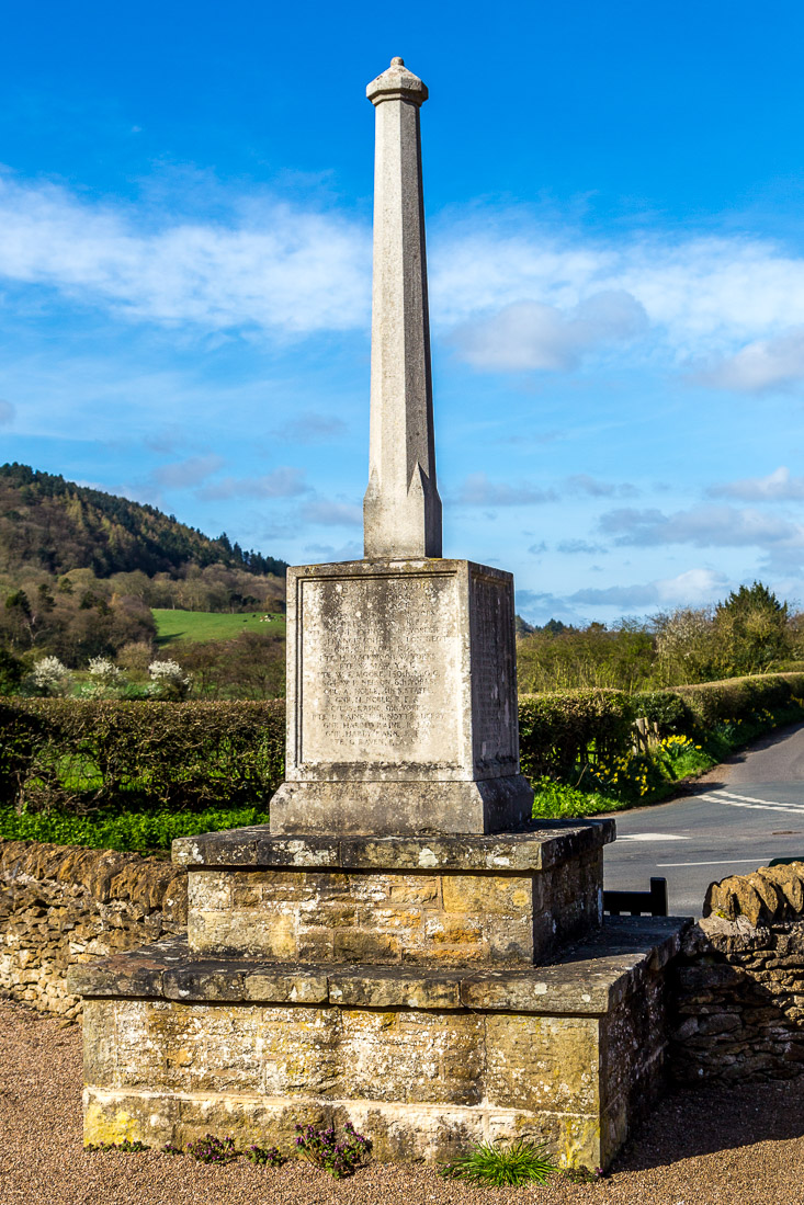 Hackness Village Hall war memorial
