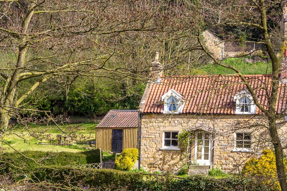 Hackness walk, Derwent View cottage
