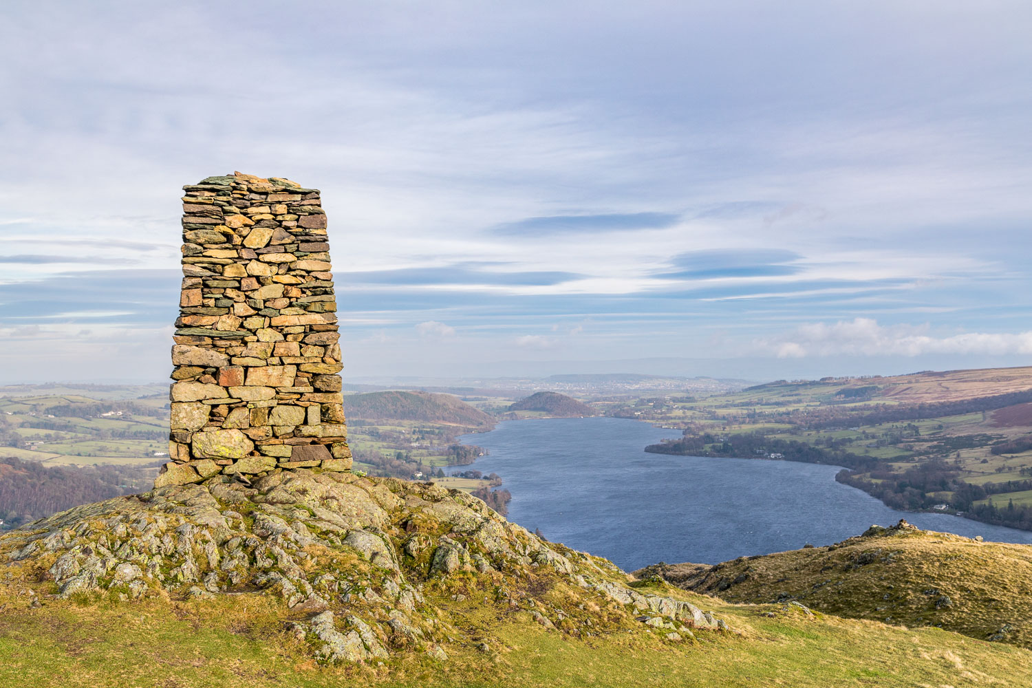 Hallin Fell summit, Ullswater