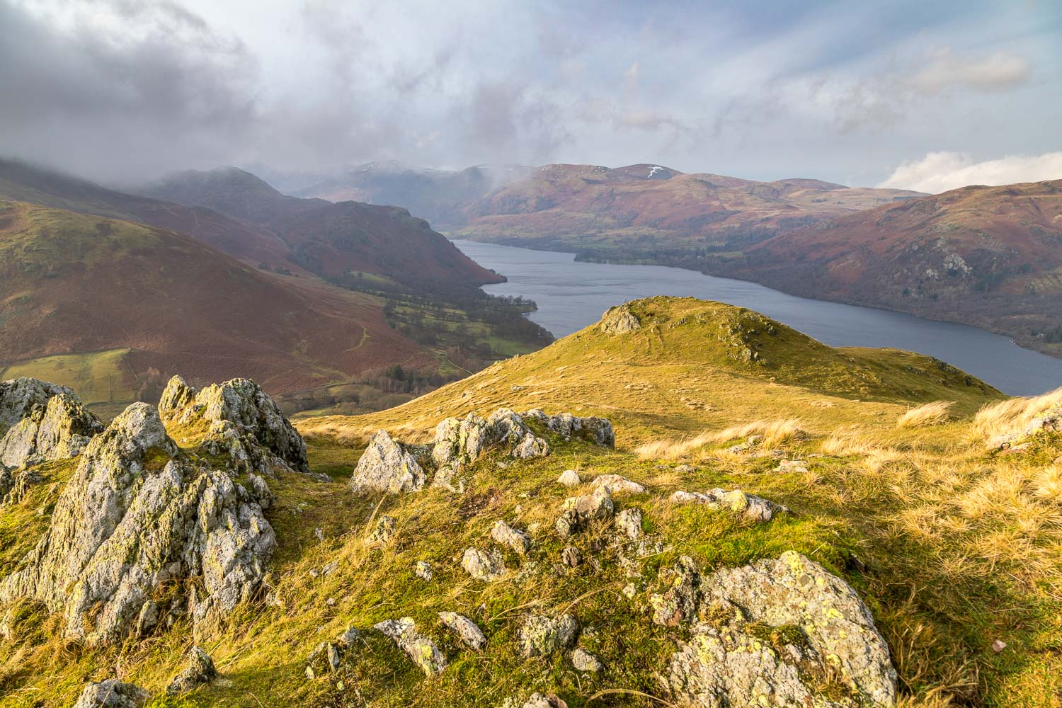 Ullswater from Hallin Fell