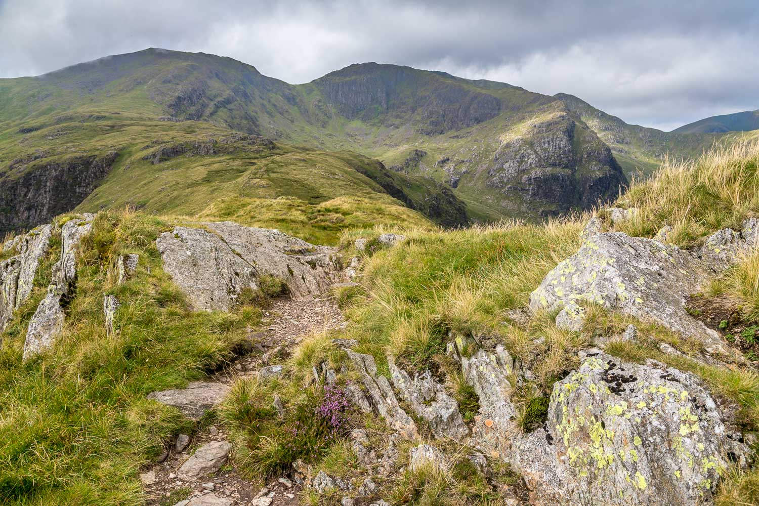Hartsop above How, Hart Crag walk