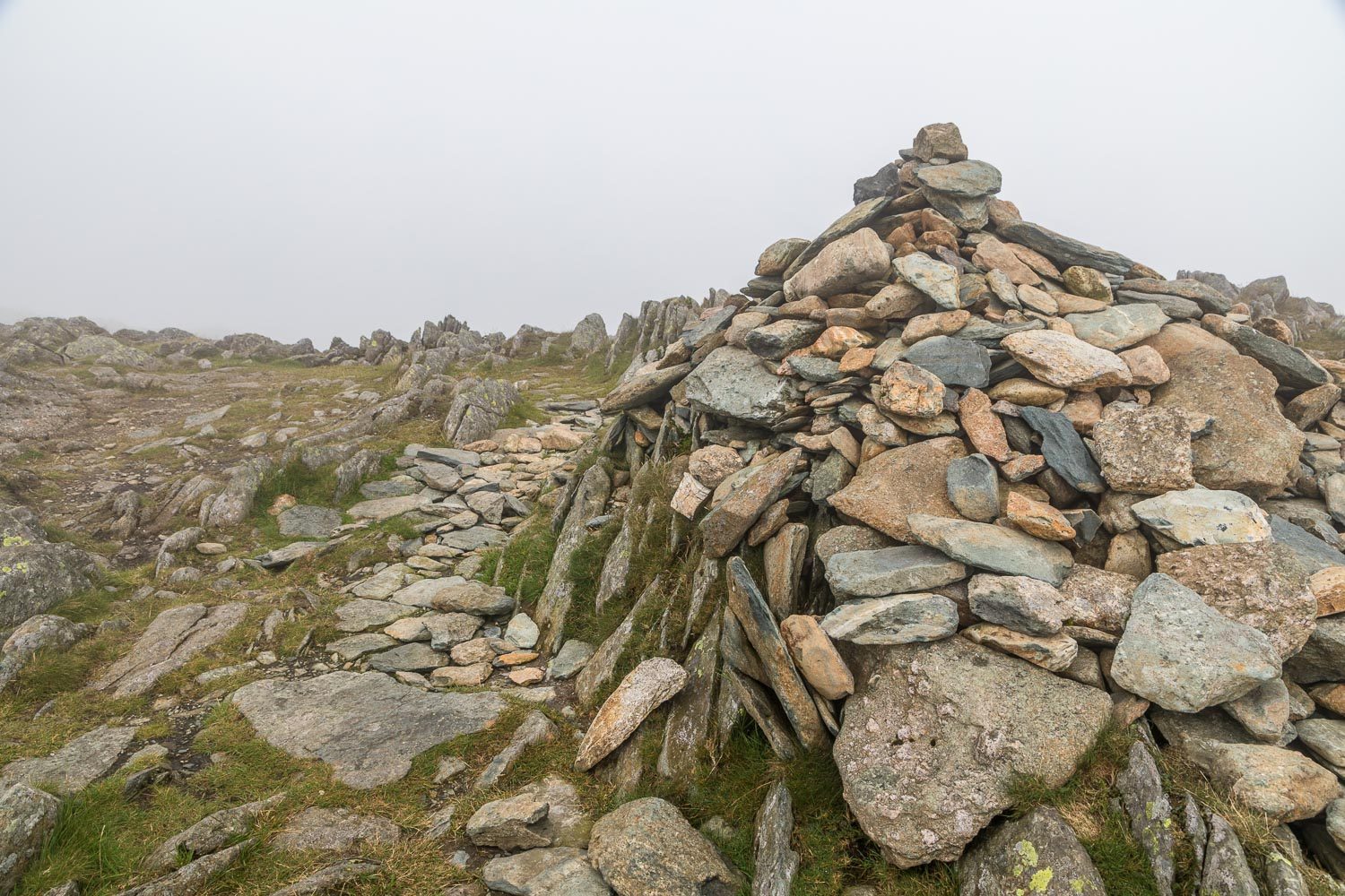 Hart Crag summit