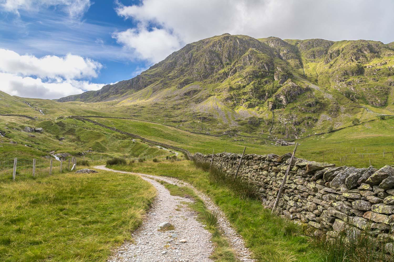 Harter Fell, Gatesgarth Pass