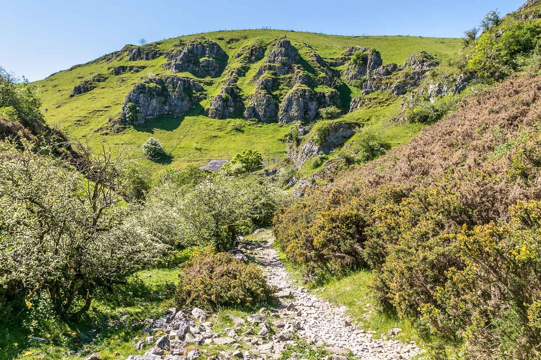 Biggin Dale, Peaseland Rocks