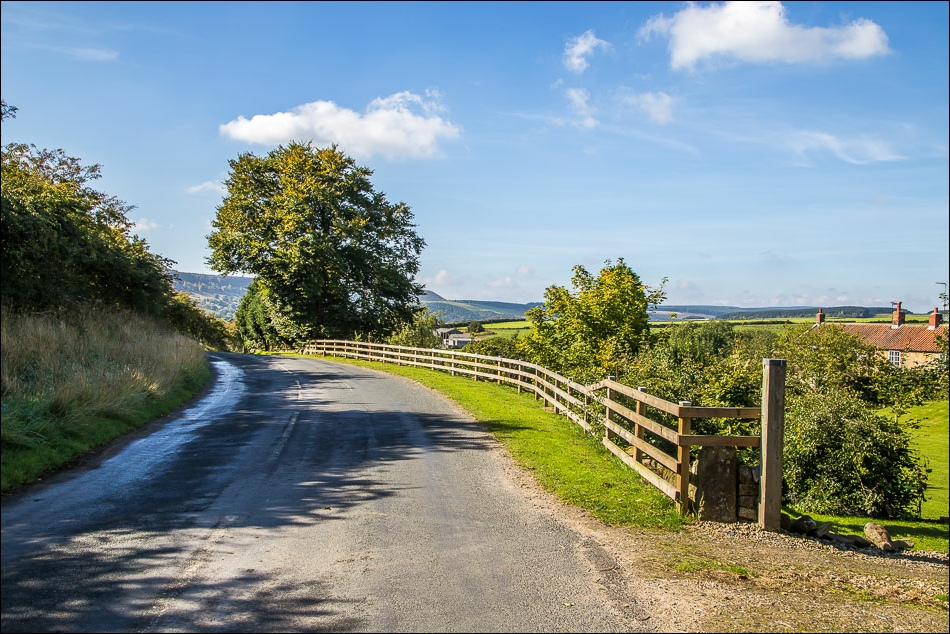 road into Harwood Dale
