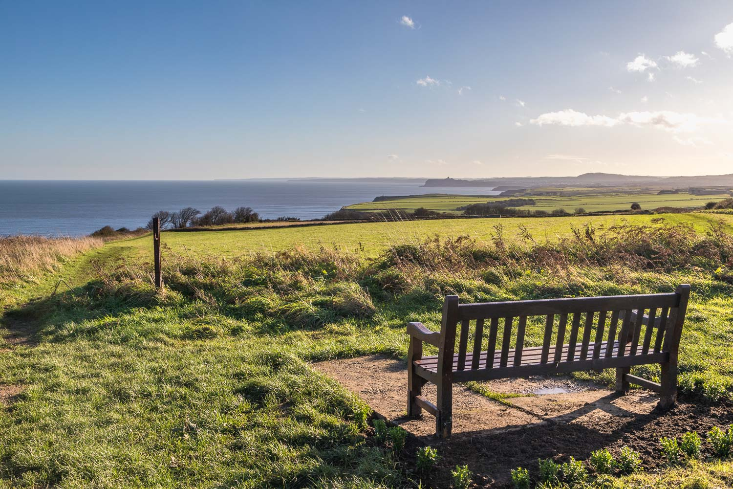Bench, Cleveland Way