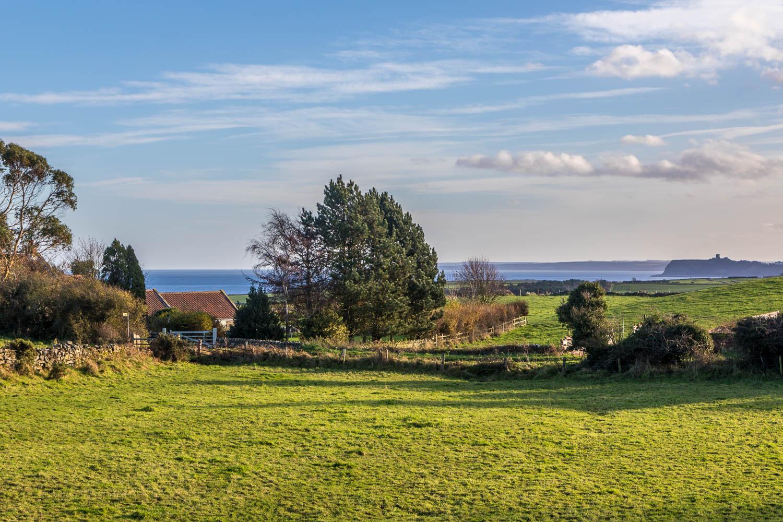 Hayburn Wyke walk, Scarborough Castle