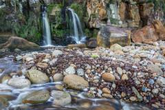 Hayburn Wyke, waterfall