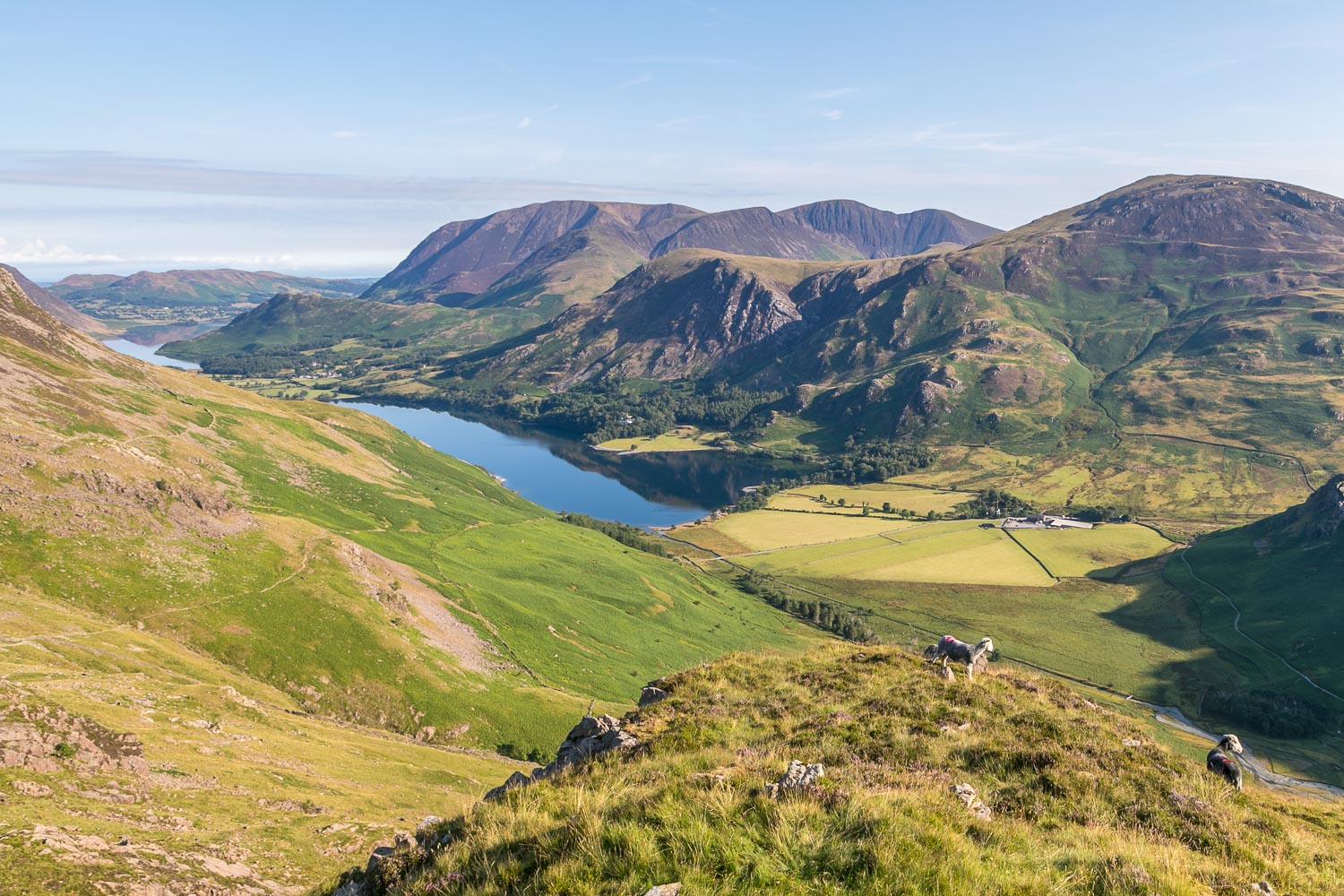 Buttermere, Crummock Water