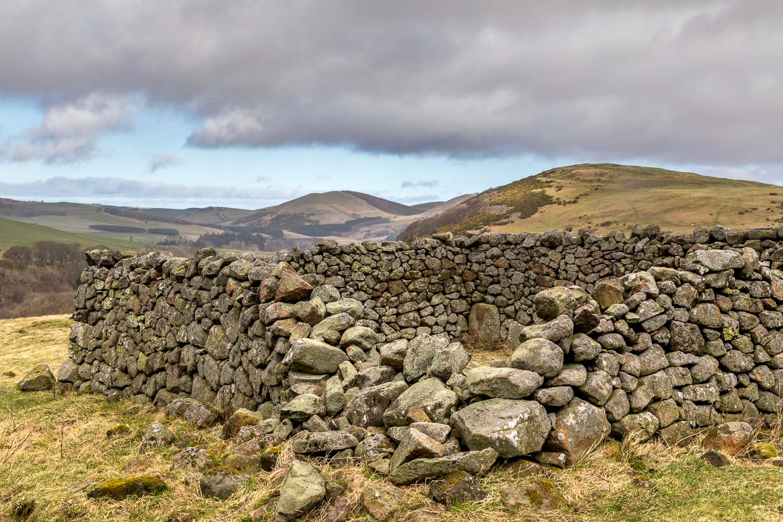 Hethpool, sheepfold