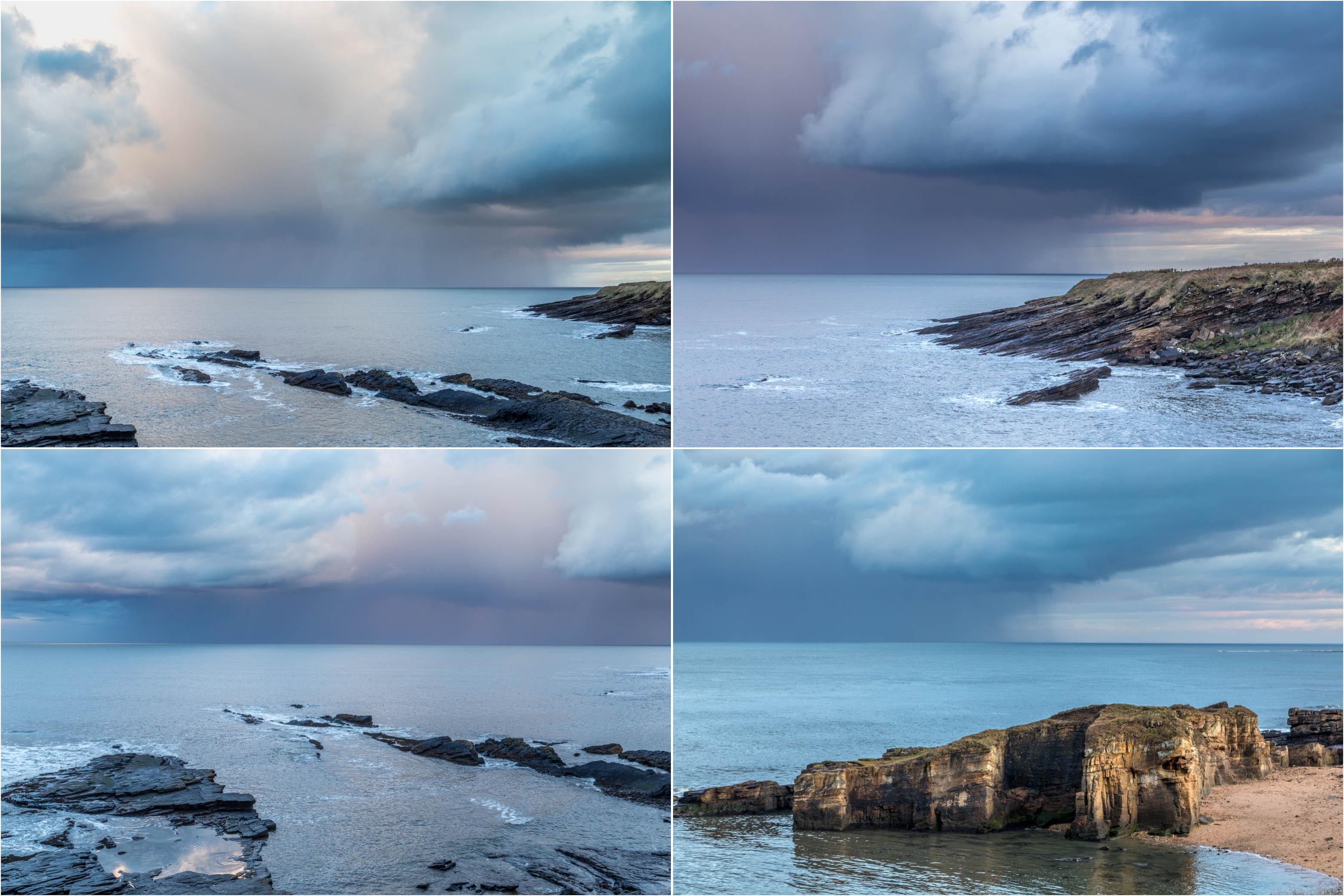 Bathing House views, Northumberland coast