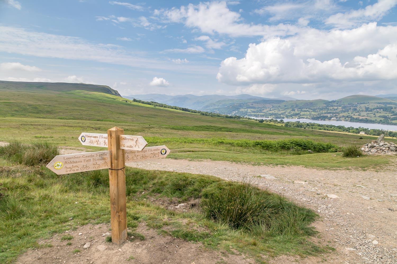 Heughscar Hill walk, Ullswater
