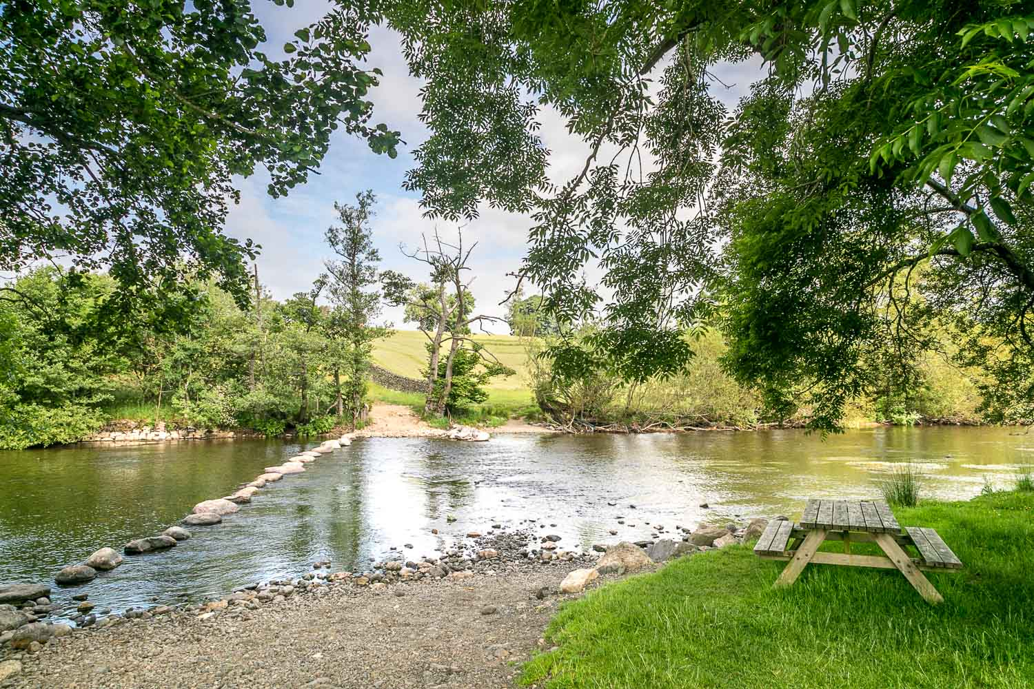 River Eamont, stepping stones