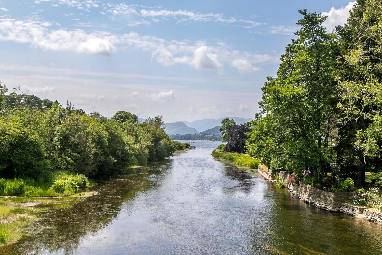 Pooley Bridge, River Eamont, Ullswater