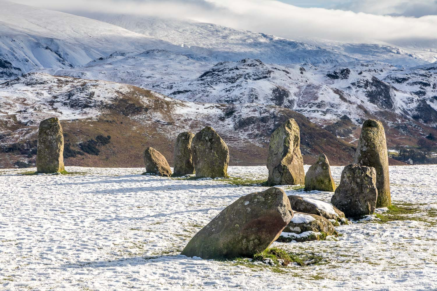 Castlerigg Stone Circle, High Rigg