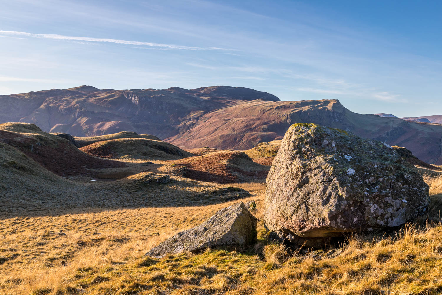 High Rigg walk, Bleaberry Fell