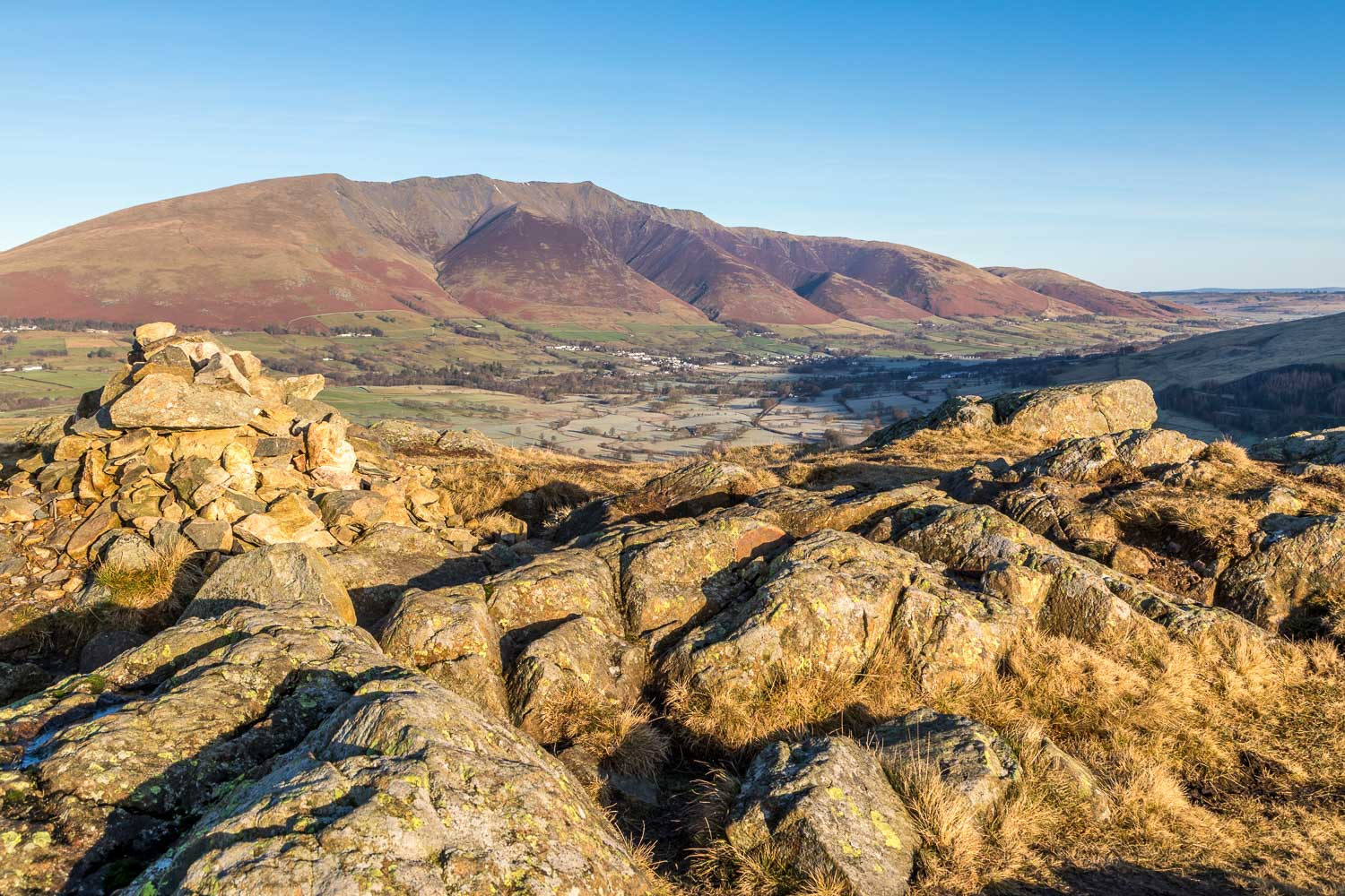 High Rigg summit, Blencathra