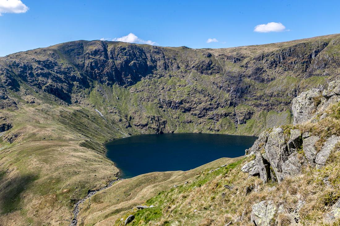 High Street-walk Lake District,  Blea Water