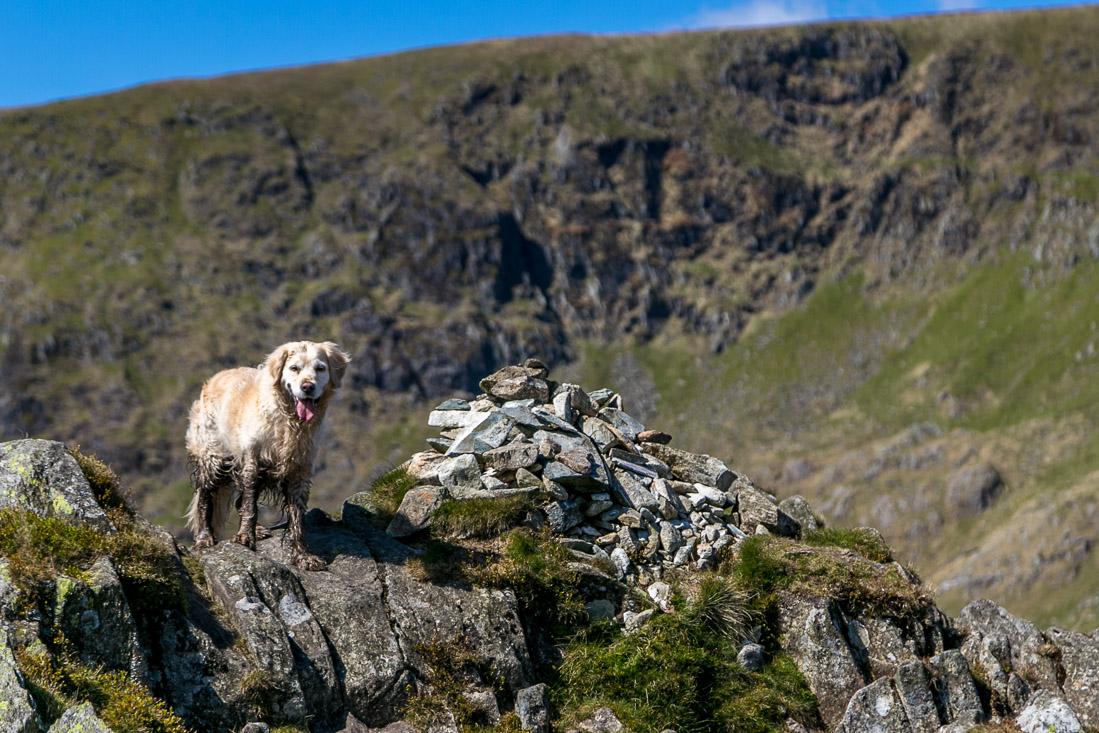 High Street-walk Lake District, Rough Crag