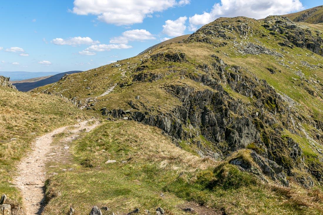 High Street-walk Lake District, Nan Bield Pass
