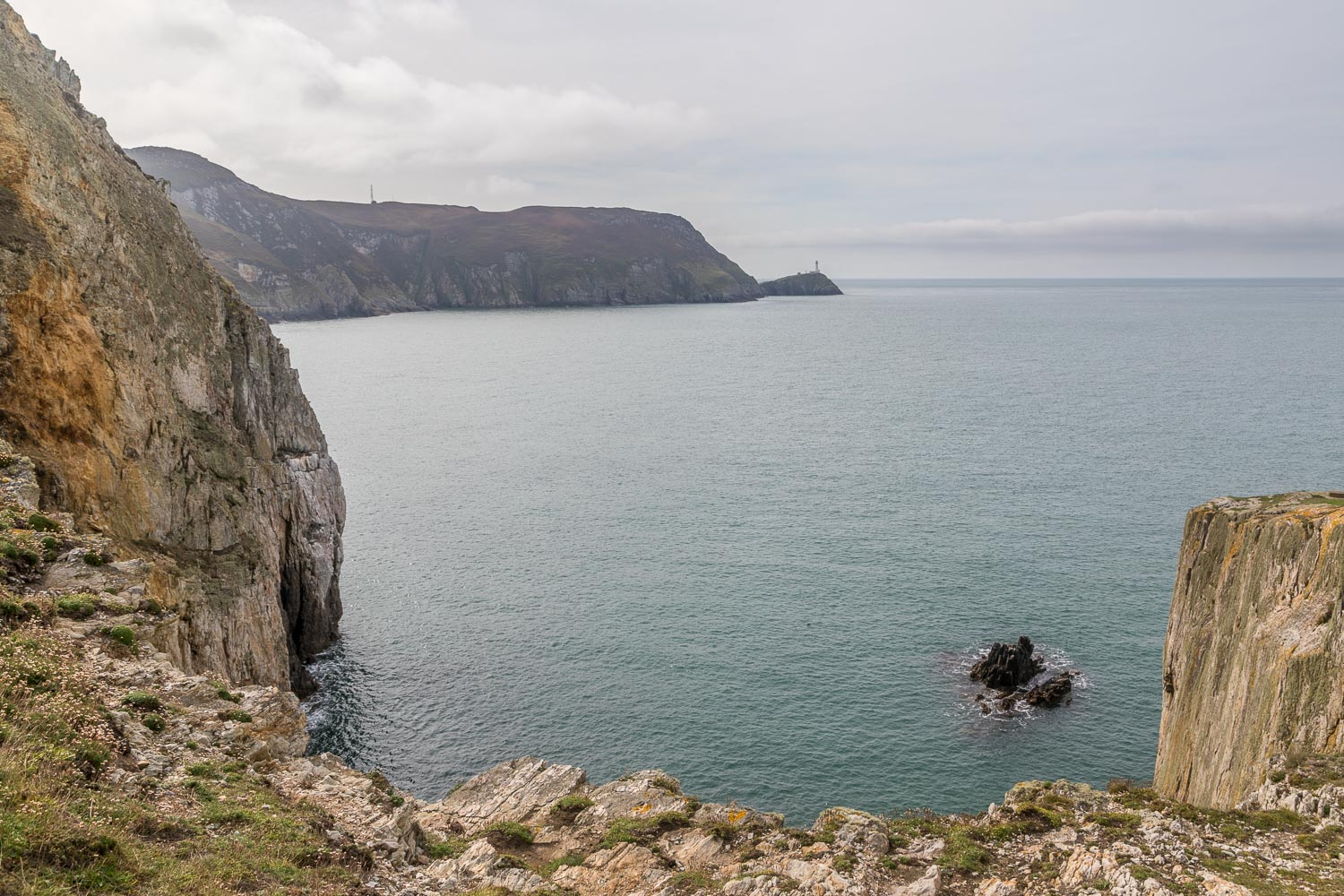 North Stack, South Stack, Holy Island