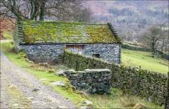 Ullswater walk, stone barn