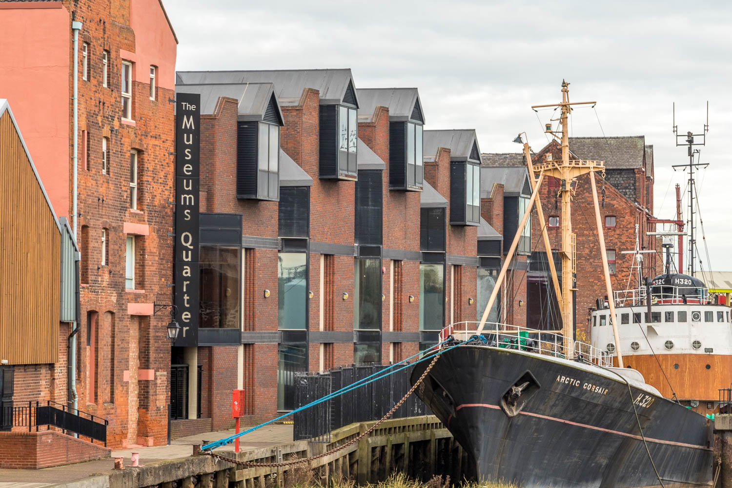 The Arctic Corsair and the Museums Quarter