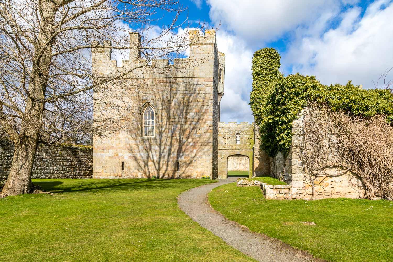 Hulne Priory, Hulne Abbey