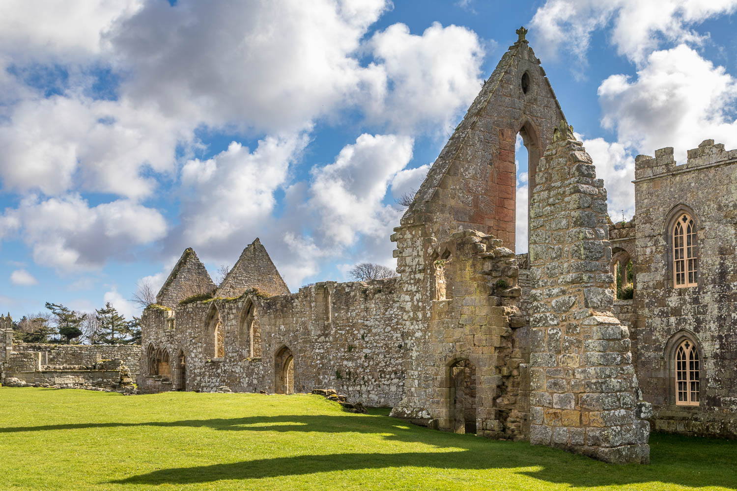 Hulne Priory, Hulne Abbey