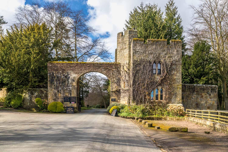 Hulne Park entrance, Forest Lodge