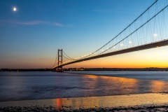 Humber Bridge sunset