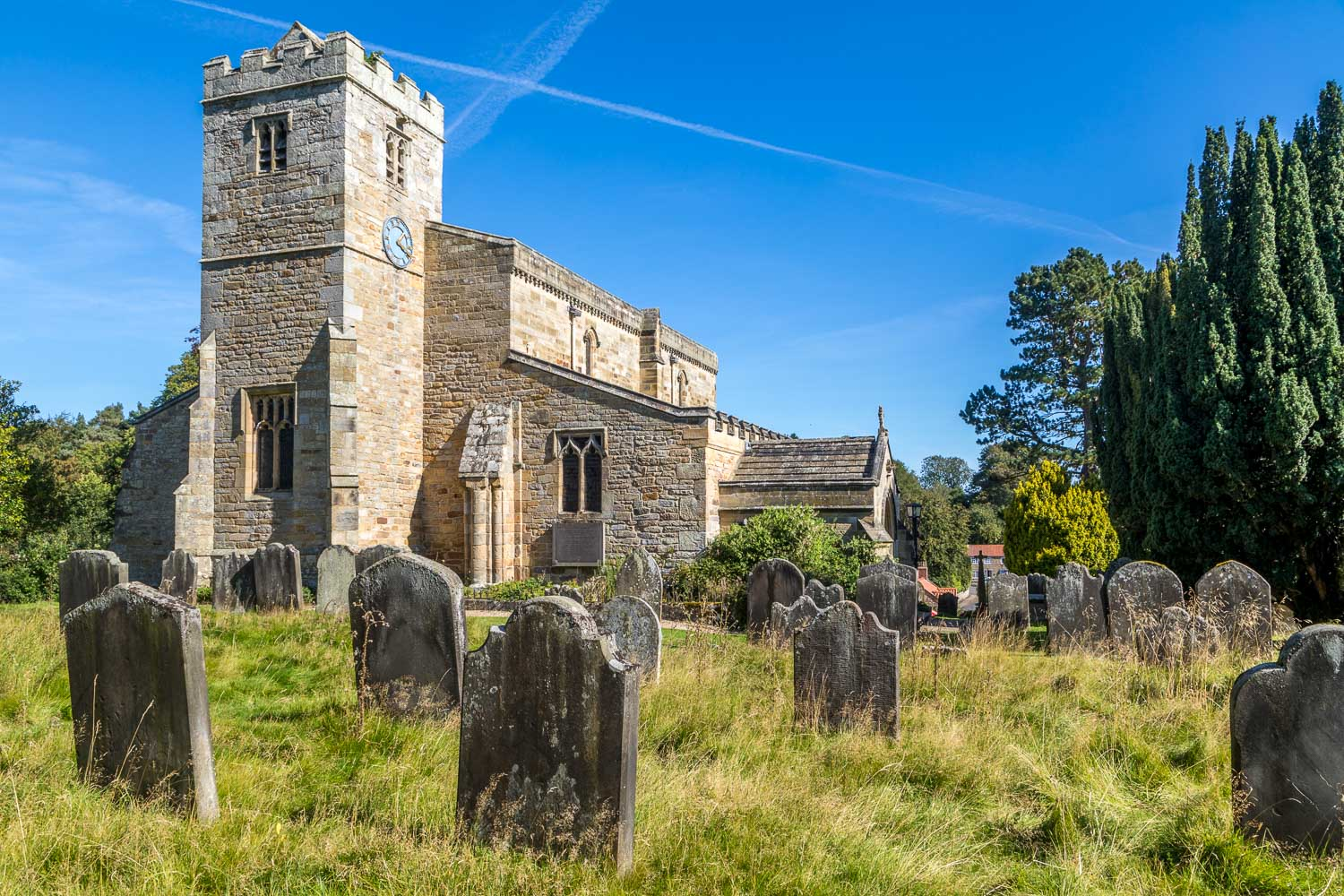 St Mary's Church Lastingham