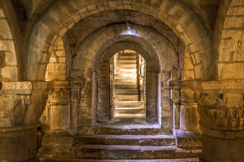St Mary's Church Lastingham, crypt