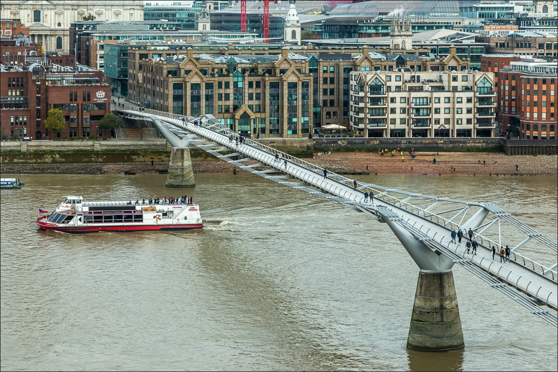 Jubilee Walkway, Millenium Bridge