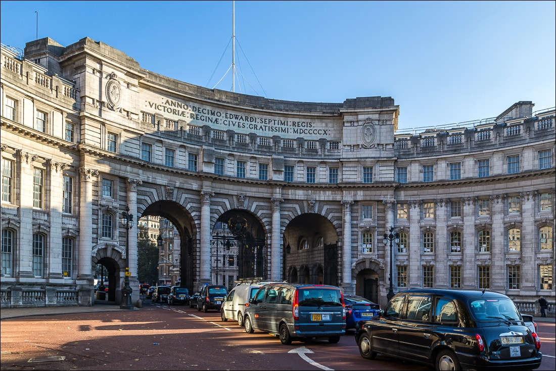 Jubilee Walkway, Admiralty Arch