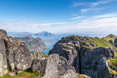Justadtind summit, Lofoten