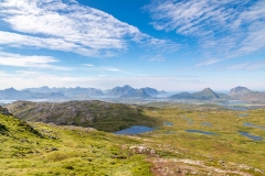 Justadtinden walk, Lofoten