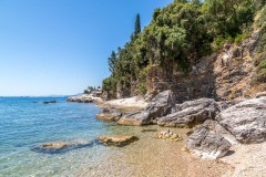 Kerasia walk, Corfu walk, Gialiskari beach